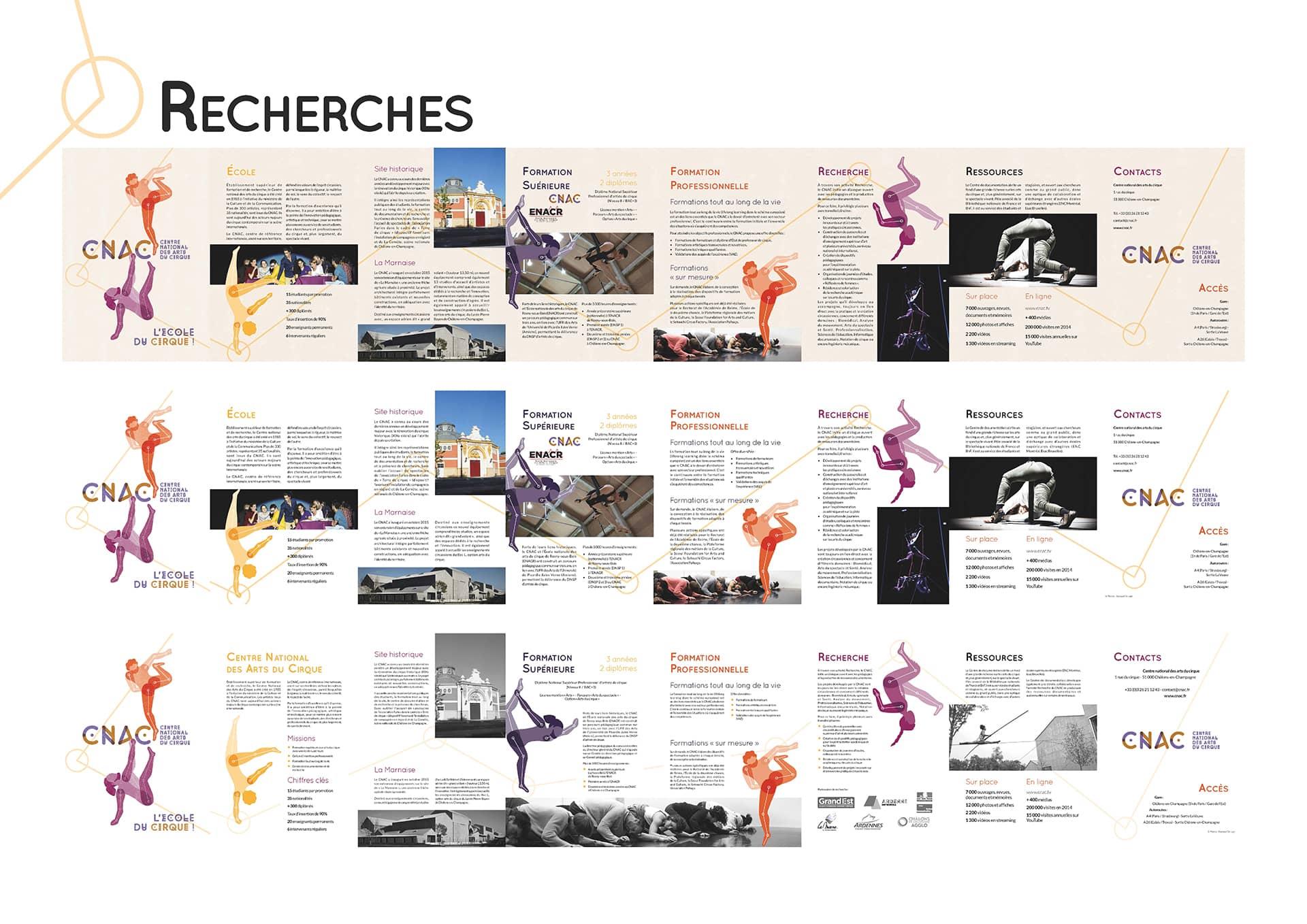 Recherches brochure