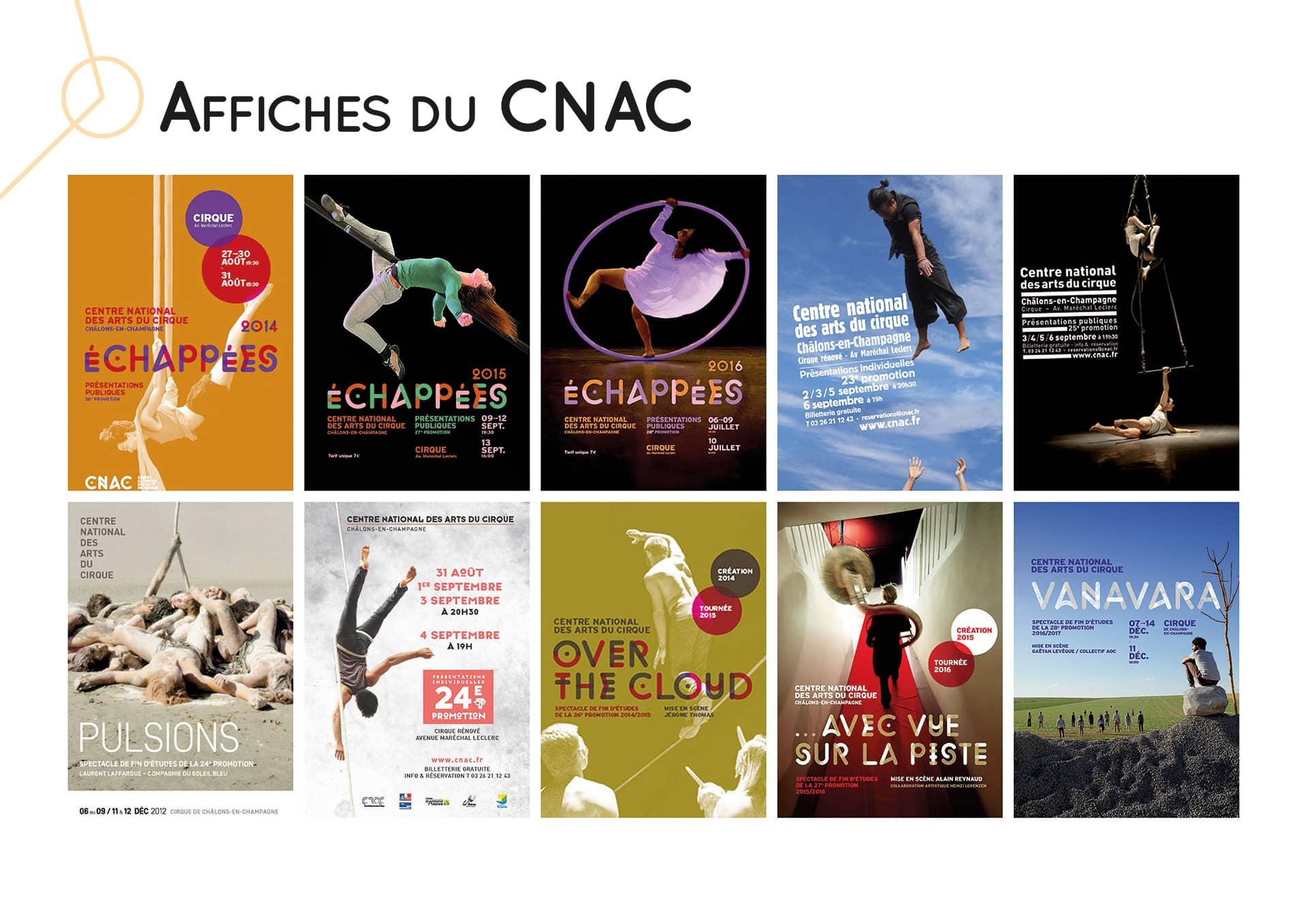 Affiches du CNAC