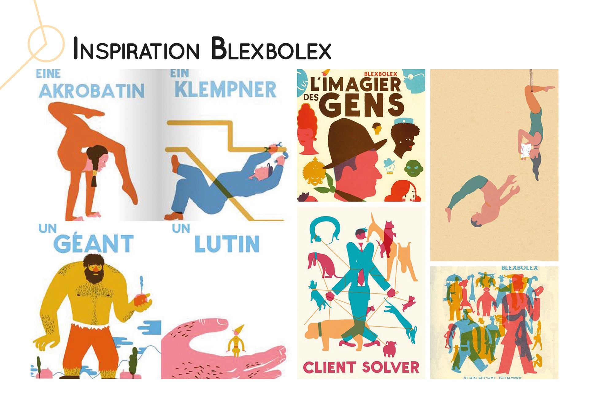 Inspiration Blexbolex