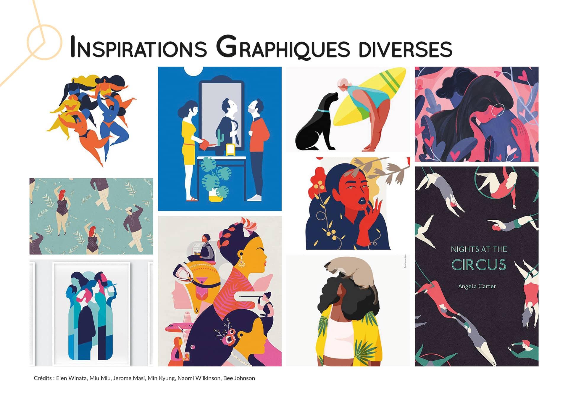 Inspirations graphiques diverses