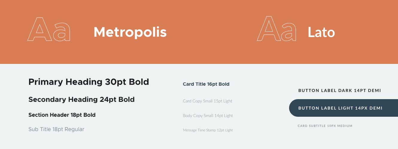 Charte graphique - Typographie