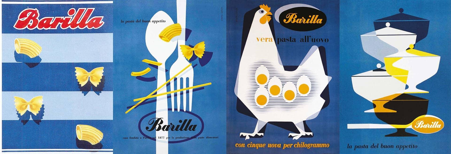 Affiches Barilla