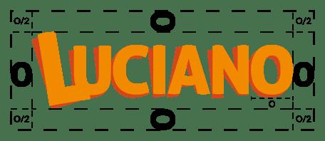 Protection logotype de la marque de pâtes Luciano