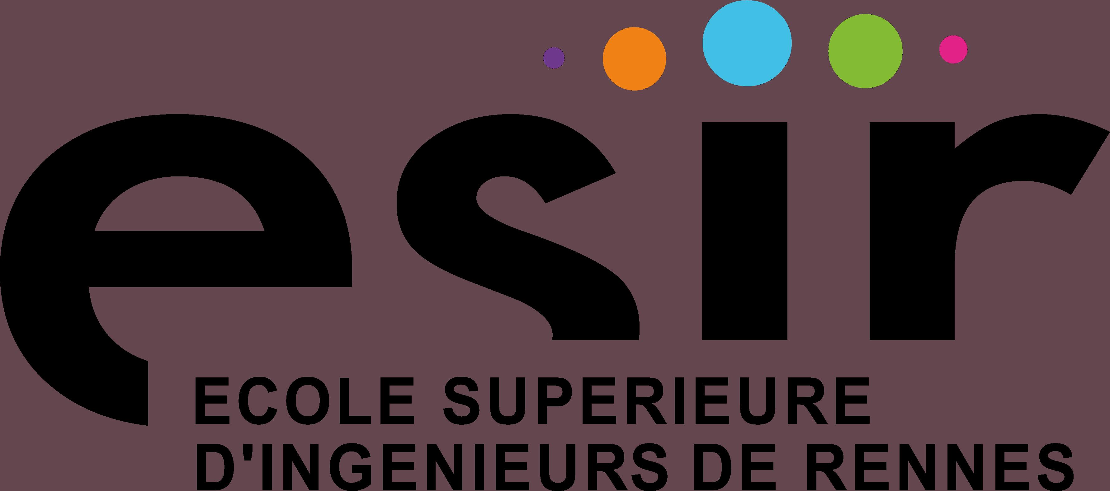 Logotype Ecole Supérieure d'Ingénieurs de Rennes