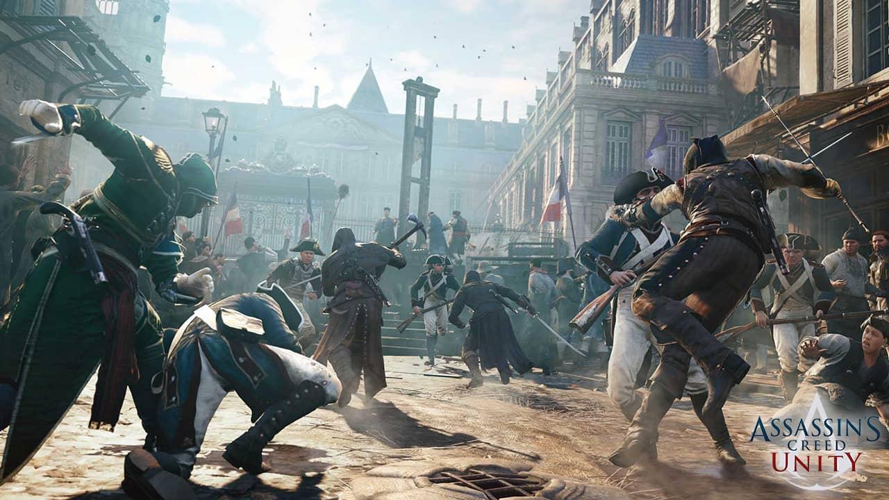 La révolution française de Paris dans Assassin's Creed Unity