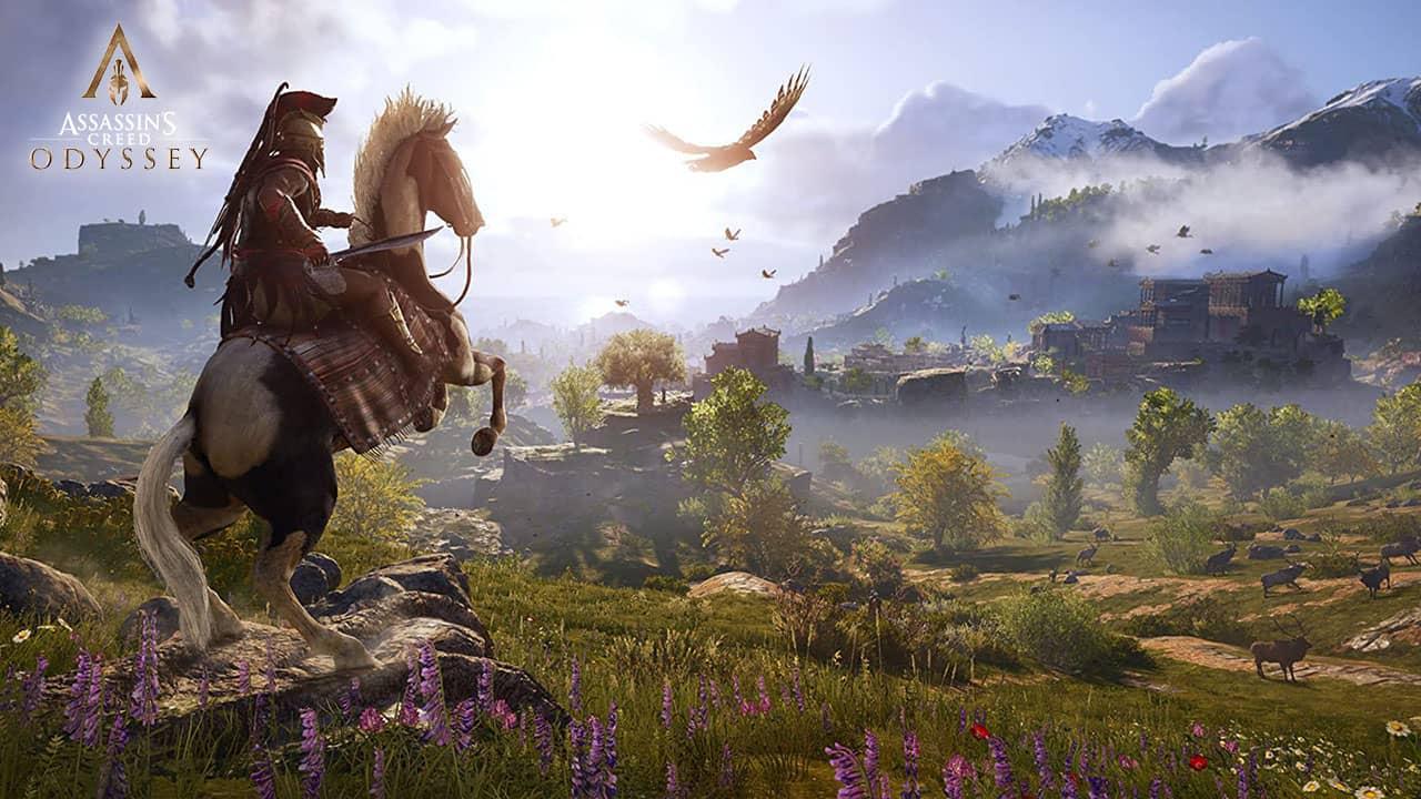 Aperçu de Spartes et paysages grecques dans Assassin's Creed Odyssey