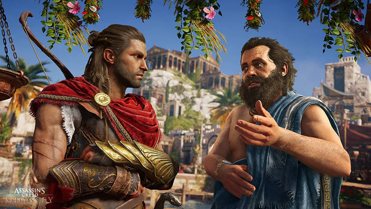 Rencontre avec Socrate dans Assassin's Creed Odyssey