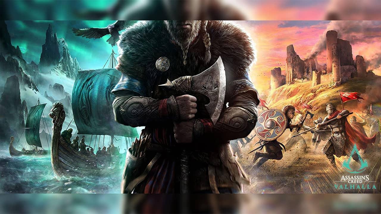 Confrontation du monde viking et britannique pour Assassin's Creed Valhalla