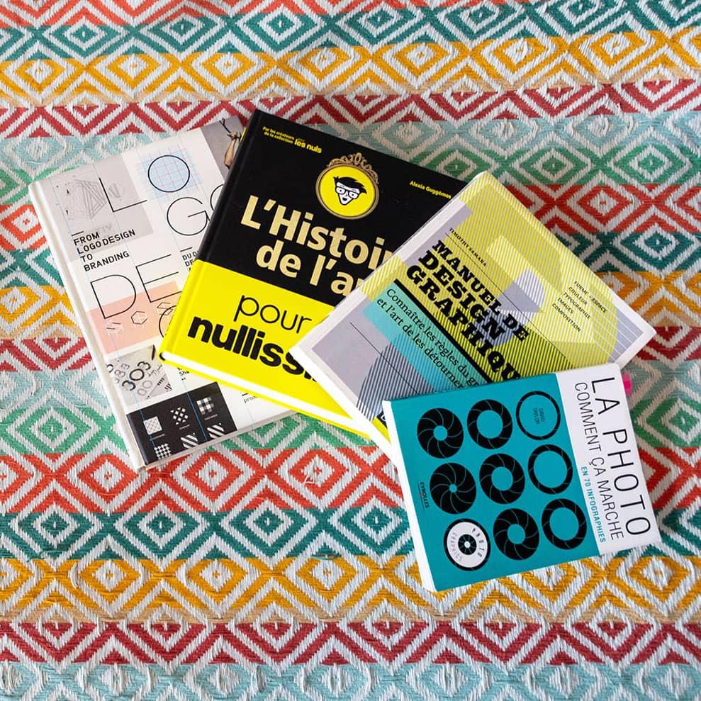 Mes livres de chevet sur le graphisme