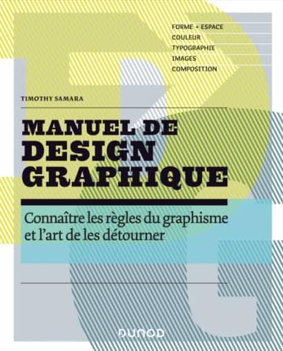 """Couverture du livre """"Manuel de design graphique"""" de Samara"""