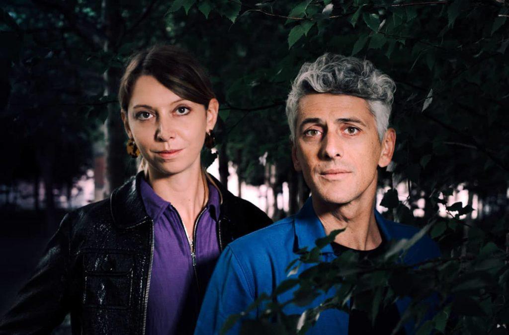 Portrait de Roxanne Moreil et Cyril Pedrosa, photographiés par Chloé Vollmer-Lo