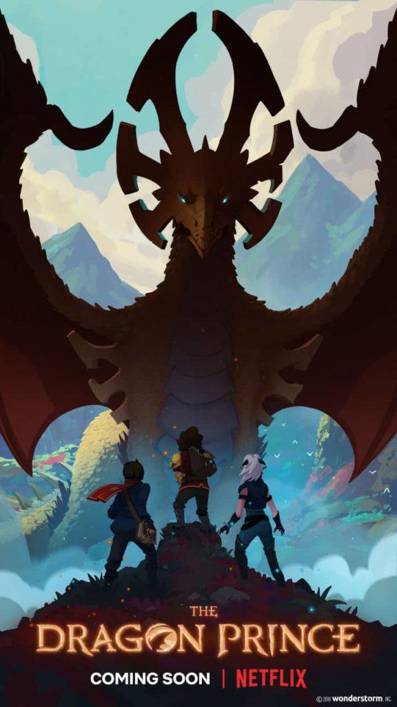 Affiche de la série Le prince des dragons