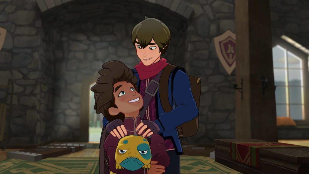 Le deux personnages principaux, les frères princes